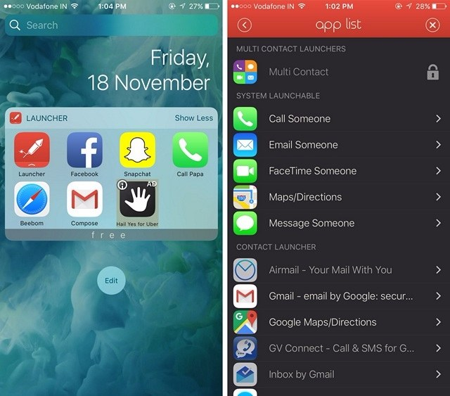 launcher-widget-ios