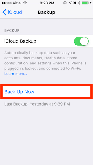 Backup-Now