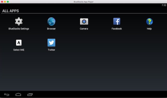 Android emulators for Mac bluestacks