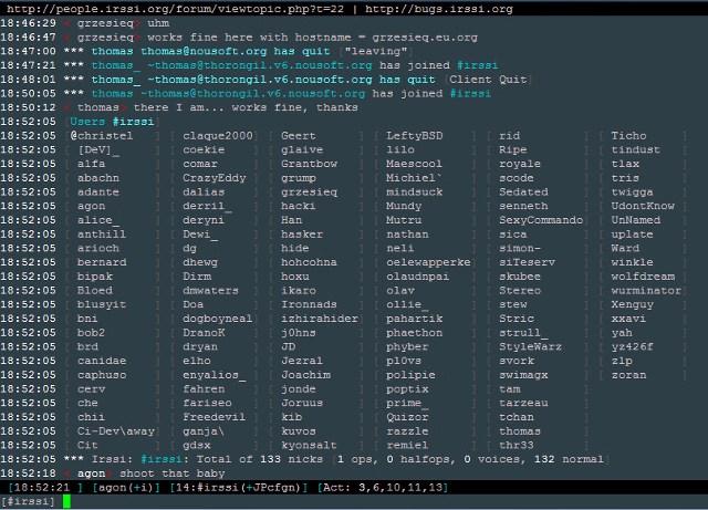 linux-irc-clients-irssi