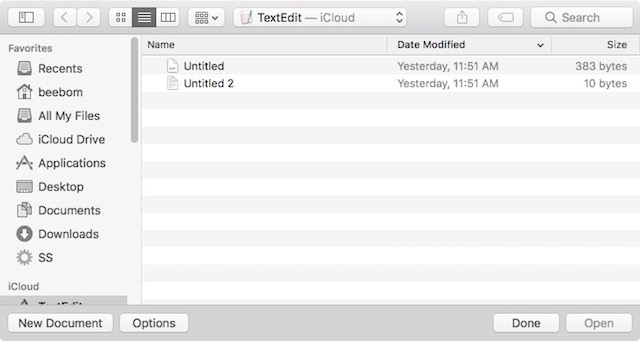 How to Save Files in TXT Format in TextEdit on Mac | Beebom