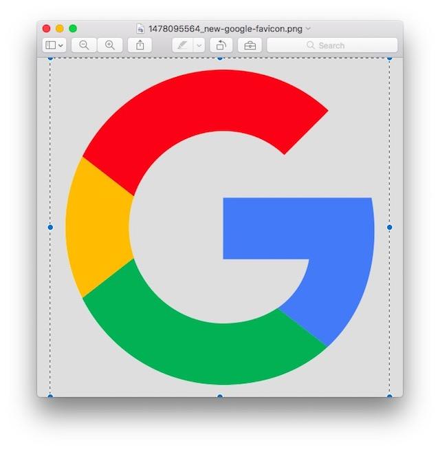 Hinzufügen von benutzerdefinierten App-Symbolen in macOS Kopieren Sie das neue Symbol