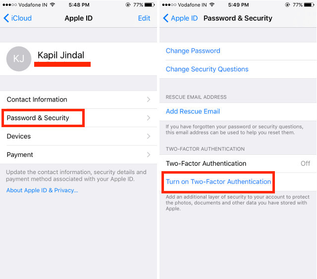How to Enable Two Factor Authentication for iCloud | Beebom