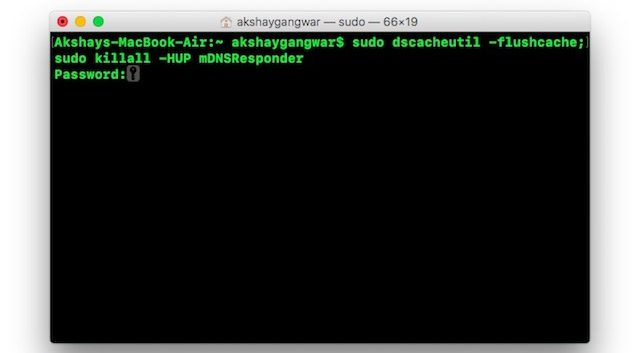 DNS-Cache auf dem Mac zurücksetzen und leeren