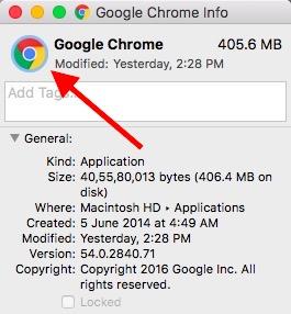Hinzufügen von benutzerdefinierten App-Symbolen in macOS Wählen Sie das App-Symbol im Inspektor aus