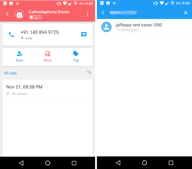 DU Caller for Android: Identify and Block Spam Calls with