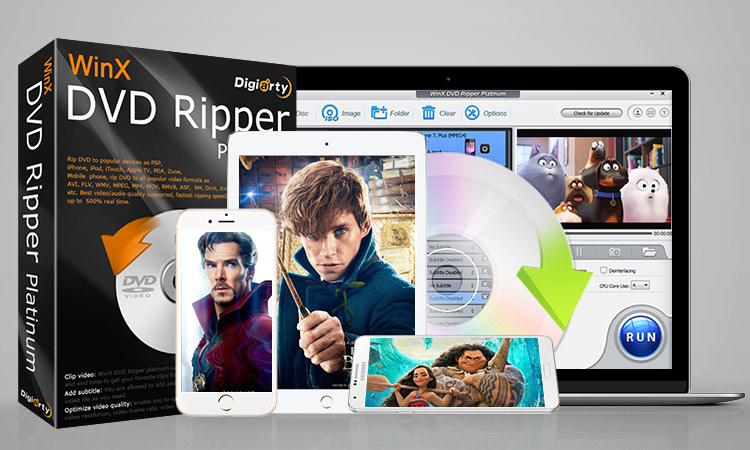 WinX DVD Ripper: Rip DVDs and Edit Videos Quickly on Mac or