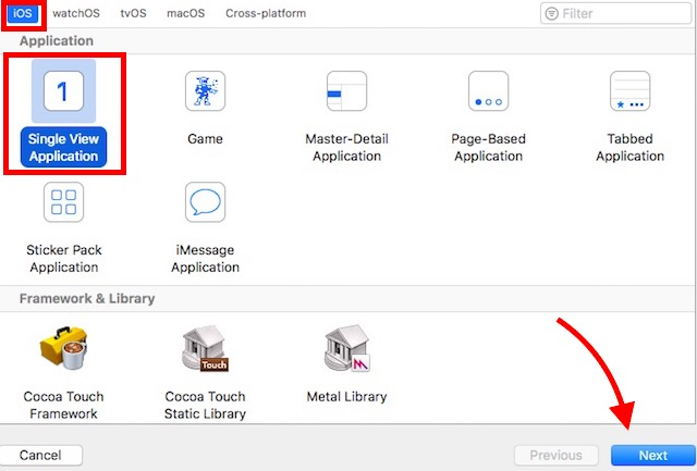 single-view-application-next