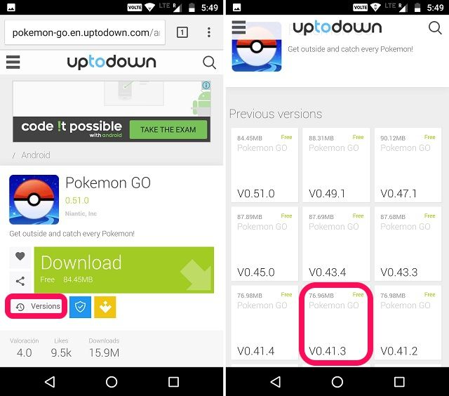 How to Install Old Versions of Android Apps | Beebom