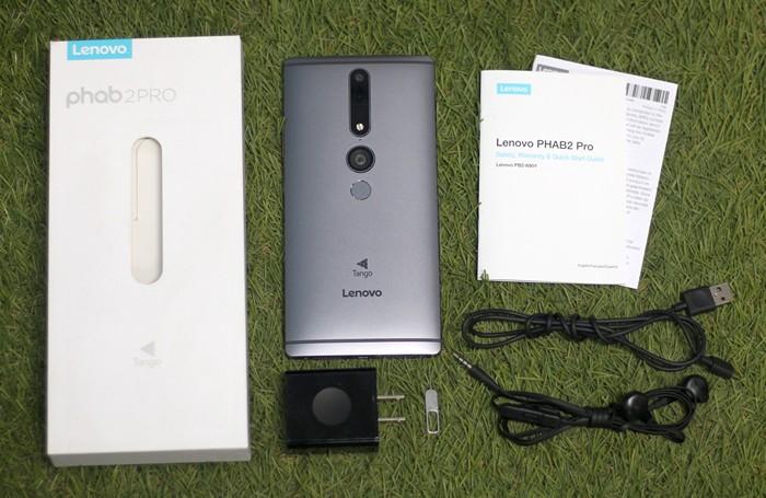 Lenovo Phab 2 Pro In the Box