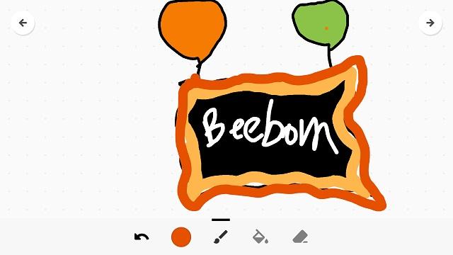 Toontastic drawing board