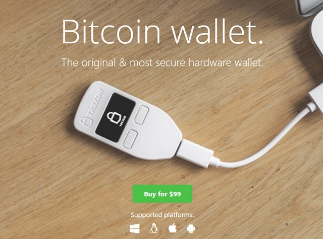 Trezor Bitcoin Wallet