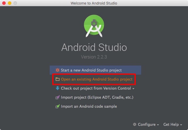 android-studio-open-existing-project