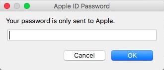 apple credentials