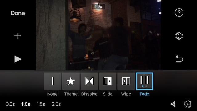 Aplikasi Edit Video iPhone Terbaik 2020 - imovie-tangkapan layar-1