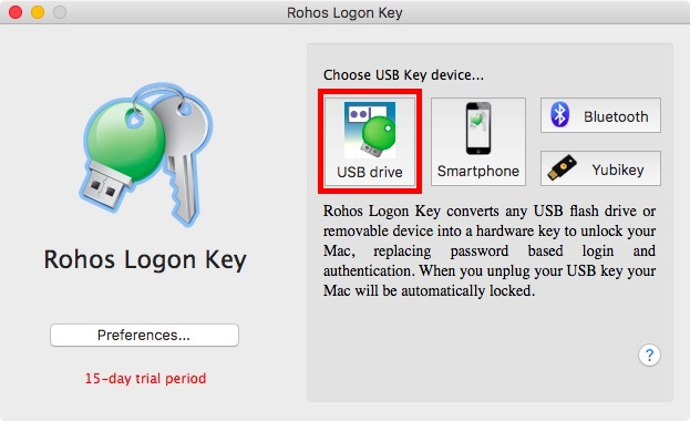 usb drive. in rohos