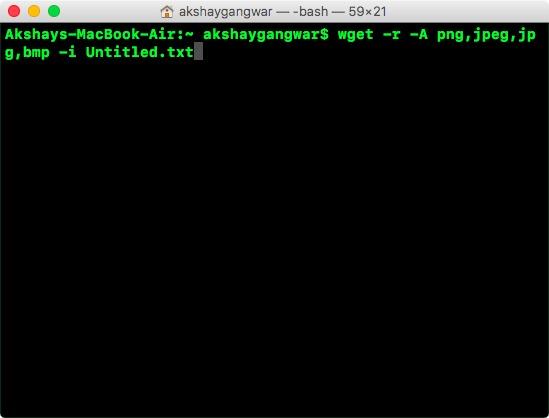 usa un file esterno per specificare gli URL