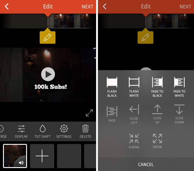 videoshop-tangkapan layar