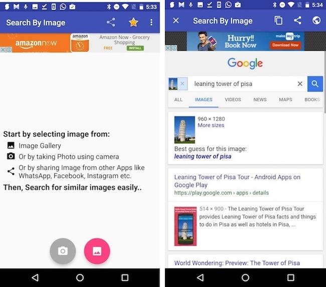 Come invertire la ricerca di immagini su Android e iPhone