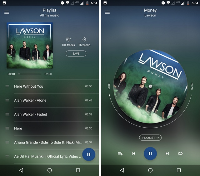 10 Best Android Music Players You Can Use (2017)   Beebom