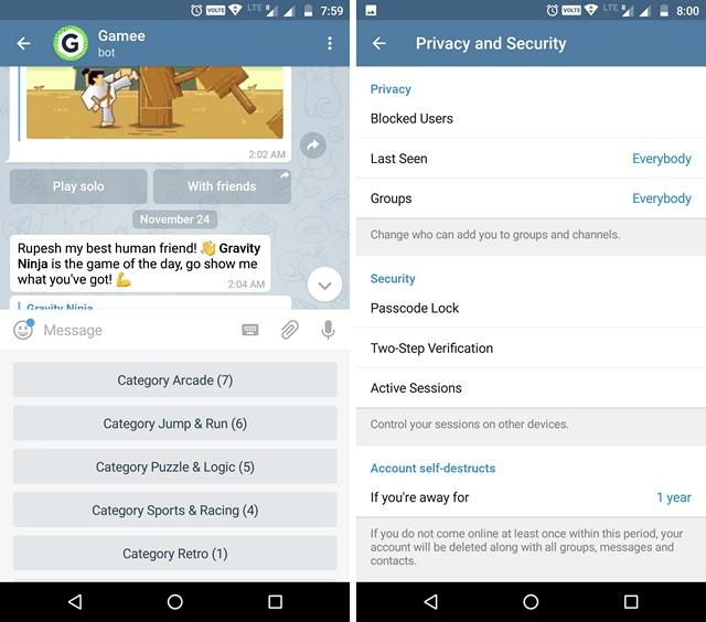 Telegram WhatsApp Alternative App