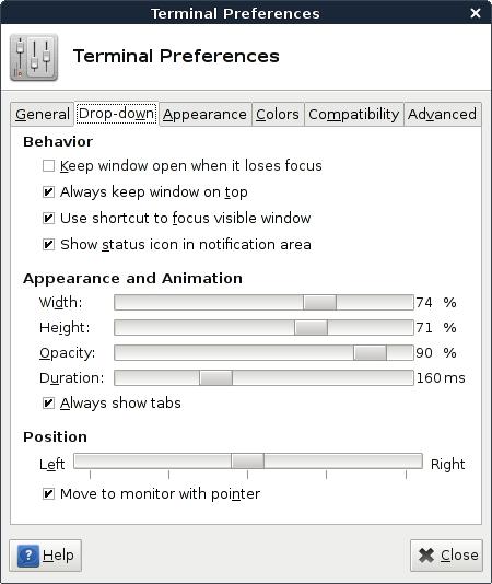 linux-terminals-xfce-terminal-options