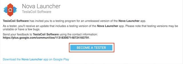 Beta-Tester werden