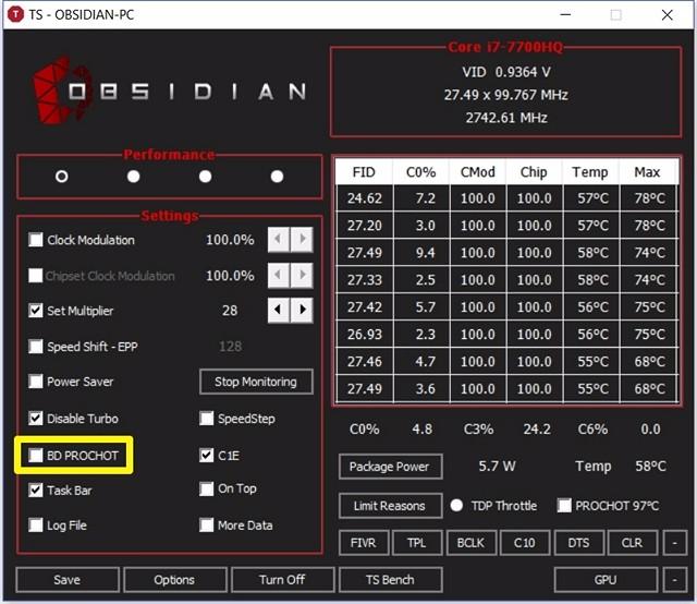 Como usar o ThrottleStop para controlar o desempenho da CPU