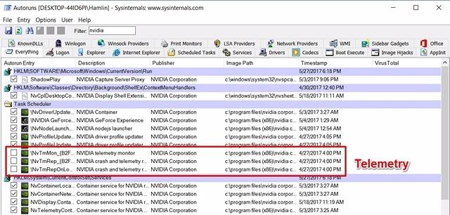 Como desativar a telemetria NVIDIA no Windows