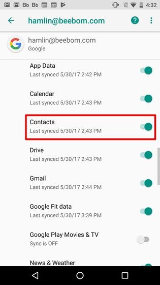 Come trasferire contatti Android su iPhone