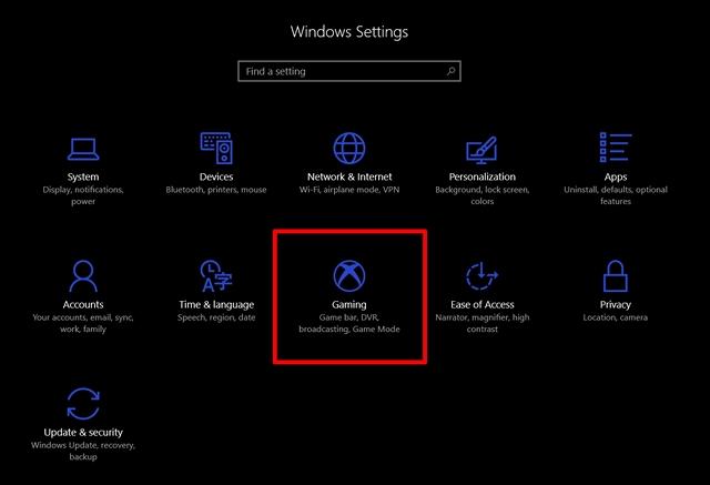 Windows 10'da Oyun Modu Nasıl Kullanılır