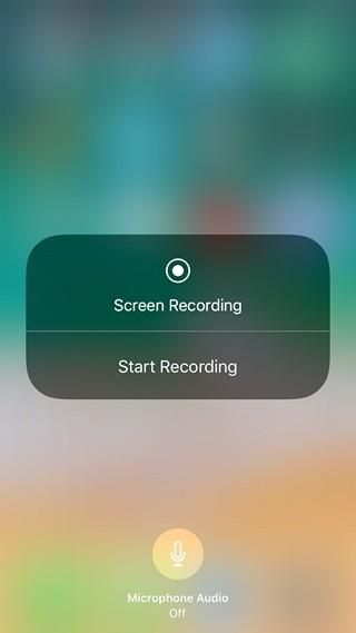 iOS 11'de Yerel Olarak Ekran Nasıl Kaydedilir