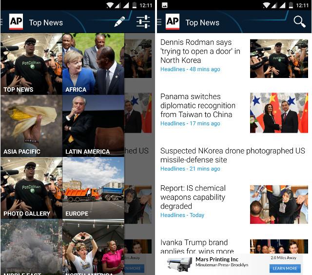AP Mobile News