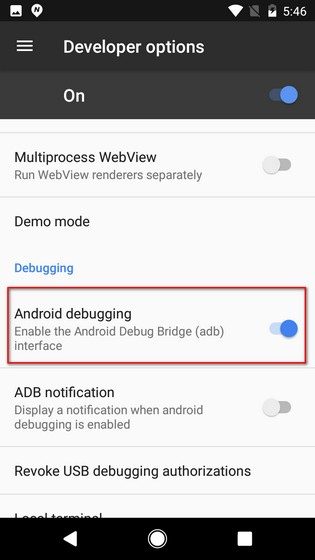 Android Debugging