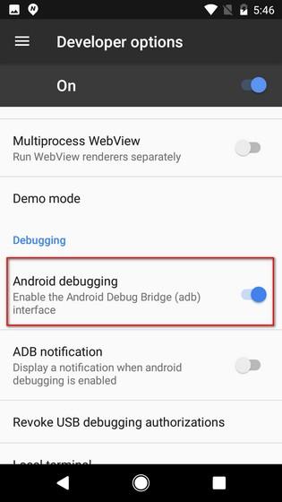 Debug Android