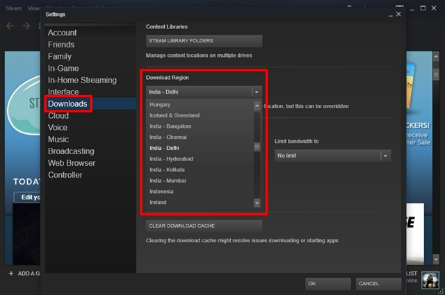 How To Increase Download Speed In Steam Beebom