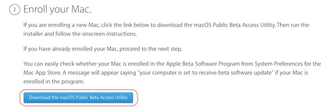 Downloading the utility tool