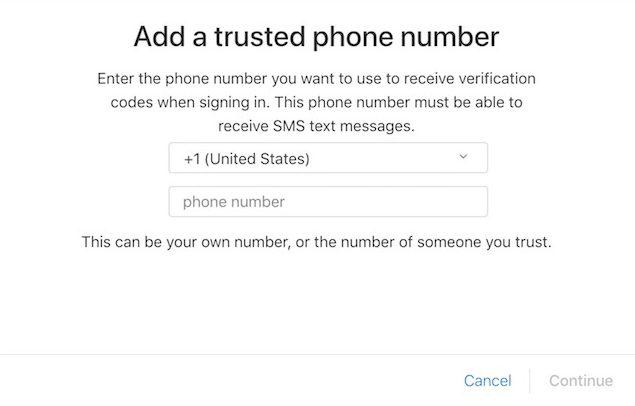 Digite o número do telefone
