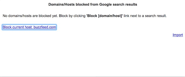 Personal Blocklist 2