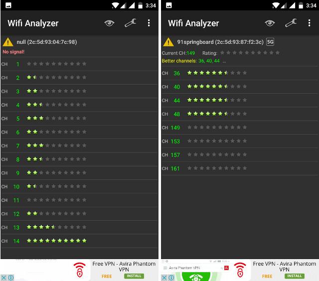 WiFi Analyzer 2