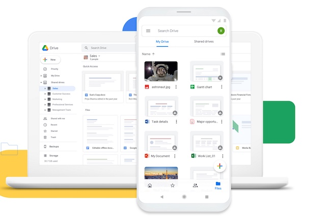 1. Google Drive - Better Alternative for G-Suite Users
