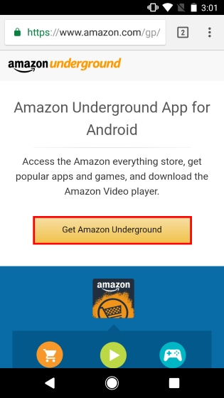 Amazon Underground Download