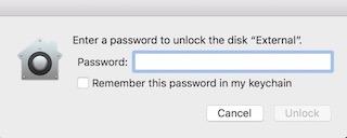 Nach Passwort fragen