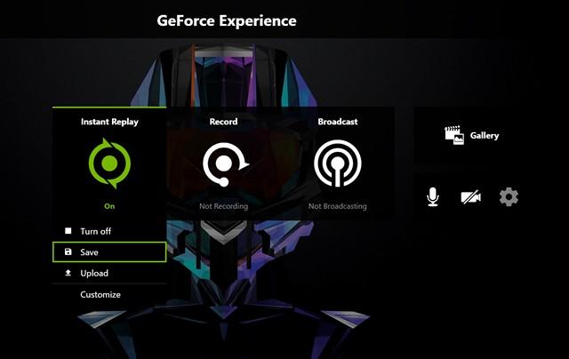 Come impostare la riproduzione istantanea su NVIDIA GeForce Experience