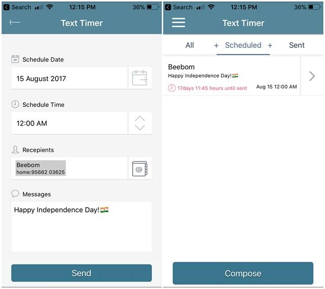 Come programmare messaggi di testo su iPhone