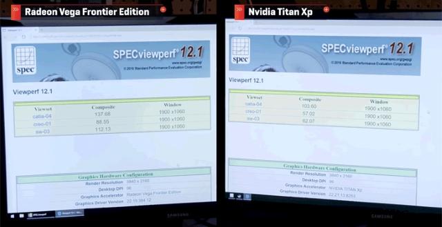 Vega vs Titan