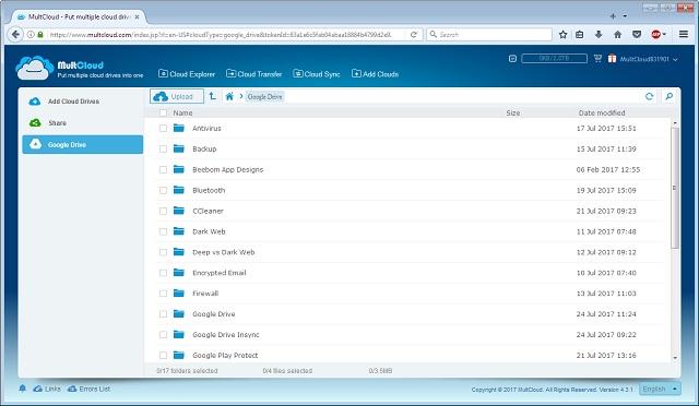 Cara Memindahkan File Antar Layanan Cloud
