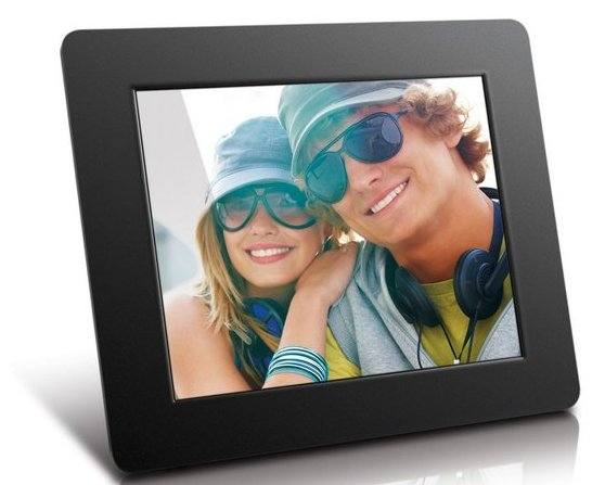 Aluratek (ADPF08SF) 8-Inch Digital Photo Frame