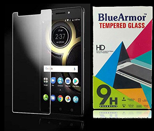 BlueArmor Tempered Glass Screen Protector For Lenovo K8 Note