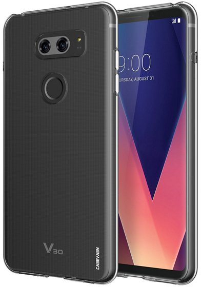Casevasn Soft TPU Clear Case For LG V30